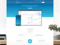 Mediazer - Landing page
