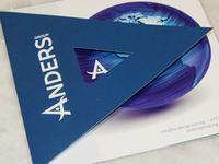 Anders Group Rebrand + Marketing Material Design