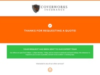 Thank You Page   Coverworks