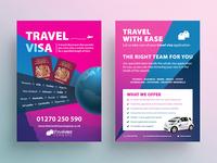 Travel Visa A5 Flyer