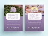 Cafe Flyer Design