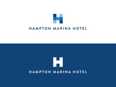 Hampton Marina Hotel Logo