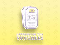 Afternoon Tea Vouchers!