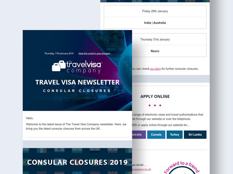 Travel Newsletter Template mailchimp travel email template email newsletter template newsletter