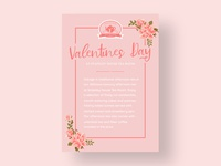 Valentine's Day Afternoon Tea Flyer