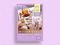 Mother's Day Afternoon Tea Poster