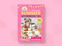 Summer Afternoon Tea Flyer