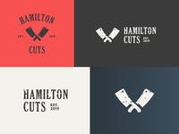Hamilton Cuts Logo