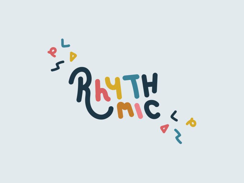 Logo for musician shape pattern shape pattern modern pastel color colour artist grime rap hip-hop bass rhythm beat groove rhythmic illustrator handdrawn music logo