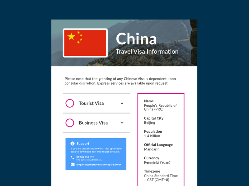 Travel Web Page prototype mockup web page travel ux ui interface design travel website website travel visa