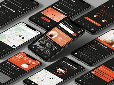 Quickly - Coffee Shop Concept App xd design ux ui app concept shop coffee