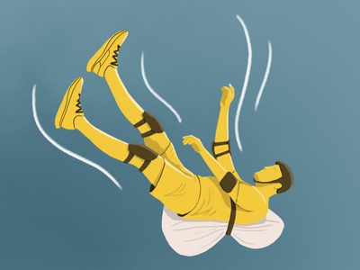 How to Fall sports magazine fall illustration