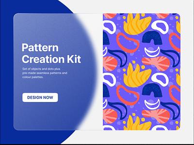 Pattern Creation Kit colorful design ui kit pattern