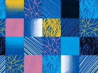 Square Geometric Pattern