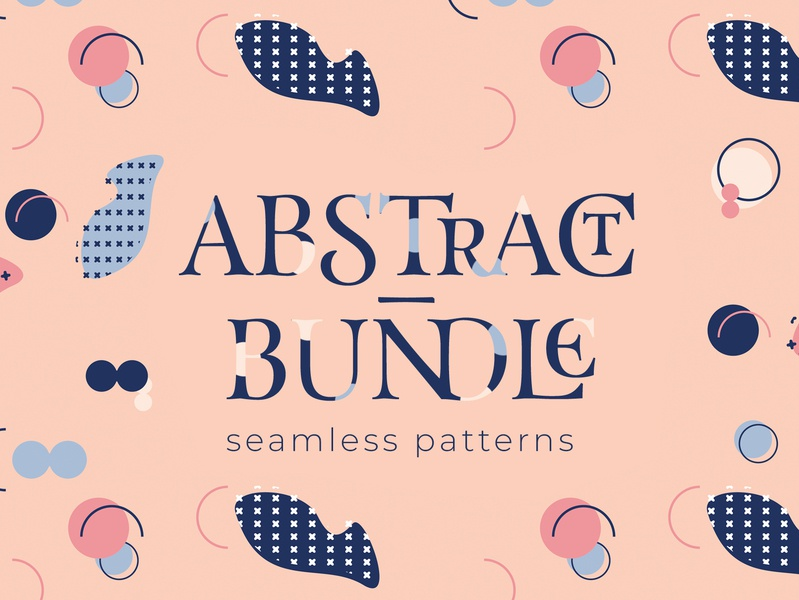 Abstract Bundle shape modern shapes graphic design bundle abstract pattern