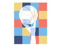 Colourful Basketball