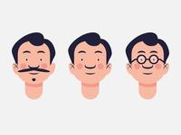 Character Head Exploration