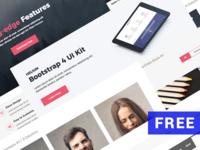 Free Bootstrap UI Kit - Helium