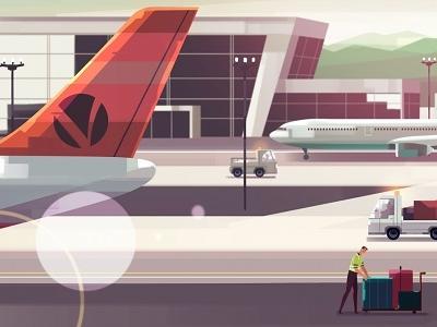 Aerocare #1 commercial flight explainer airport airplane advertisement ad plane
