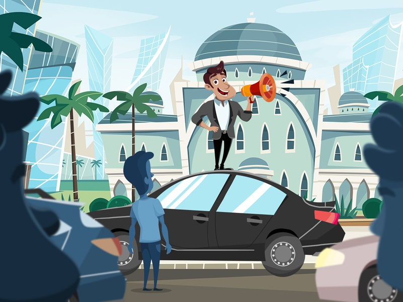 The Business Crew #1 e-learning educational video feature animation saudi arabia business animation instructional video explainer video commercial education character buildings