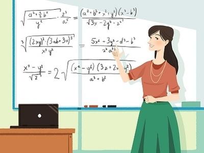 Educational concept design #2 children school lesson mathematics teacher back to school learning education illustraion concept design design