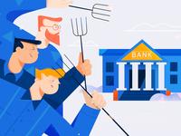 Blockchain Blog Illustrations