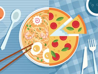 Ramen/Pizza