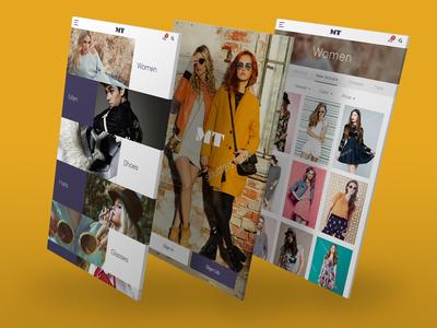 Fashion Brand App UI