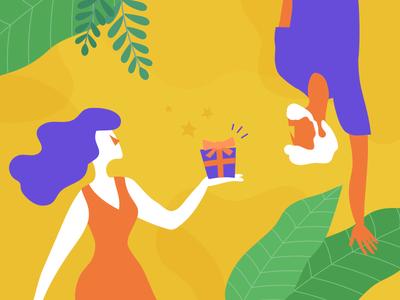 Summer Color Illustration