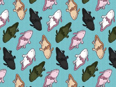 Plush Axolotls (Pattern)