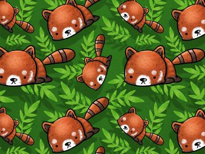 Red Panda (Repeating Pattern)