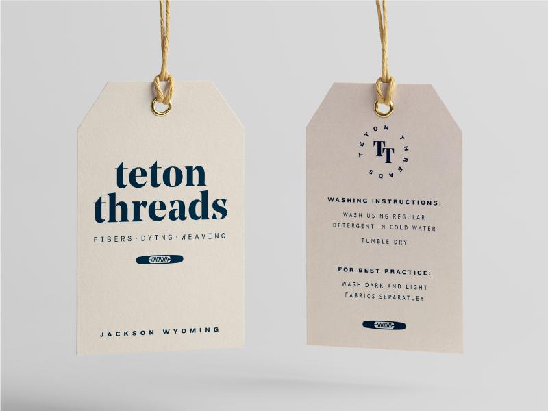 D teton threads hang tag