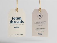 Teton Threads Hang Tag