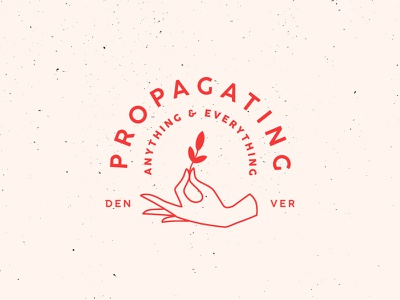 Propagating Anything & Everything texture branding stamp