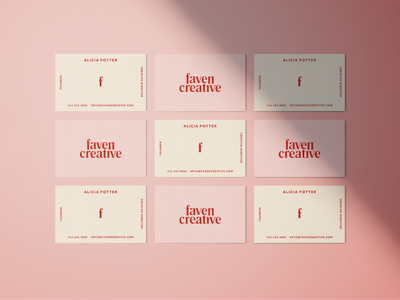 Let me give you my card branding pink print stationary business card