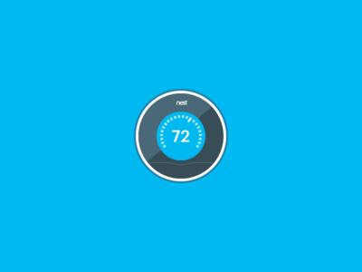 Nest Thermostat Icon