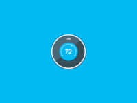 Nest Thermostat Icon