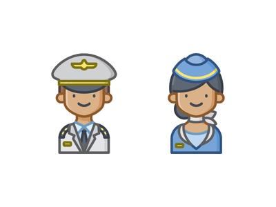 Flight Crew Icon