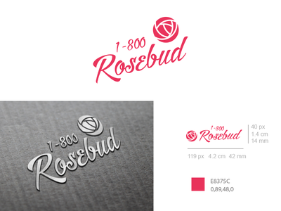 1 800 Rosebud Thirtylogos thirtylogos logo rosebud