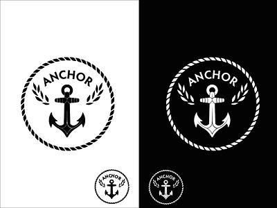 Anchor Logo Design thirtylogos challenge logo design logo