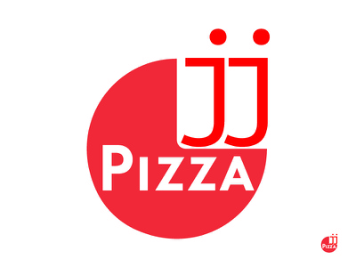 J J Pizza Logo Design 13 thirtylogos challenge logo design logo