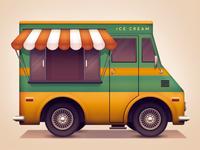 Ice cream van