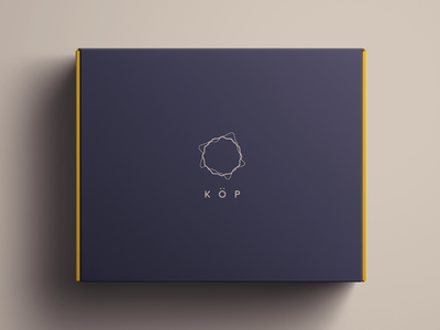 Köp Branding packaging sound typography logo lifestyle identity speaker minimal clean agency symbol branding