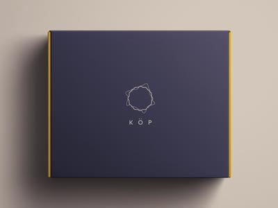 Köp Branding packaging sound typography logo lifestyle identity speaker minimal clean agency symbol branding