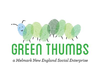 Greenthumbs identity brand autism logo