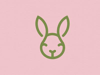 Eco Bunny icons minimal vector logo design logodesign icon design logo iconography icon