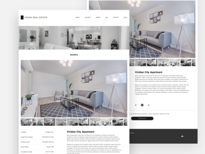 Real Estate Agency Web Concept