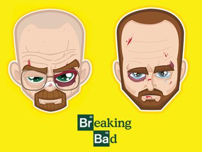 57 breaking bad illustration