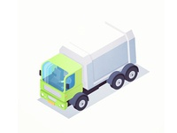 Iso Garbage Truck