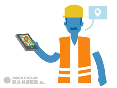 Mobile solutions infographic freelance illustrator dordrecht vector illustrator mobiele oplossing infographic